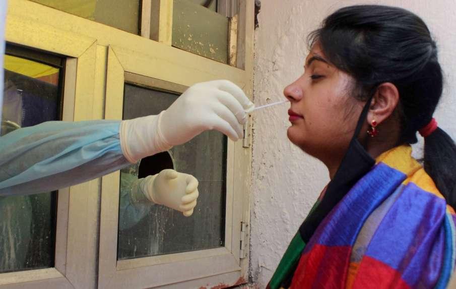 coronavirus testing in uttar pradesh cm yogi orders for 50 thousand test daily । Corona जांच को लेकर- India TV Hindi