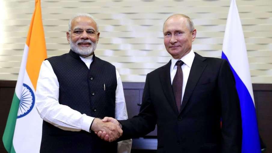 PM Modi telephoned with Vladimir Putin, congratulated 75th anniversary of victory in World War II,प्- India TV Hindi