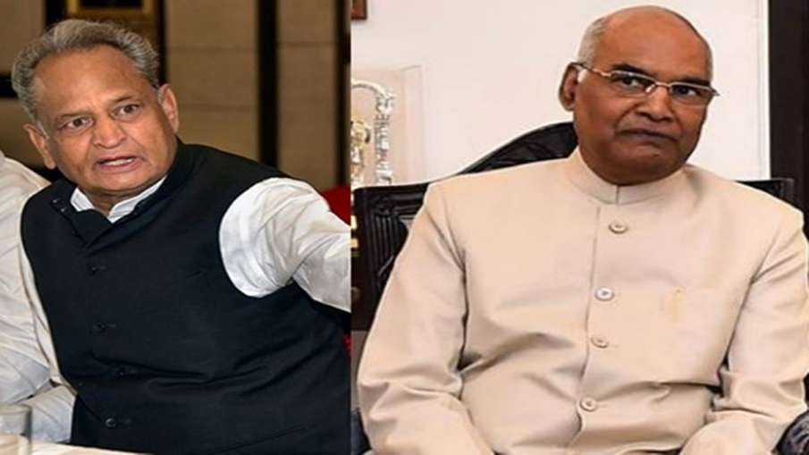 Rajasthan congress asks President to interrupt in political crisis - India TV Hindi