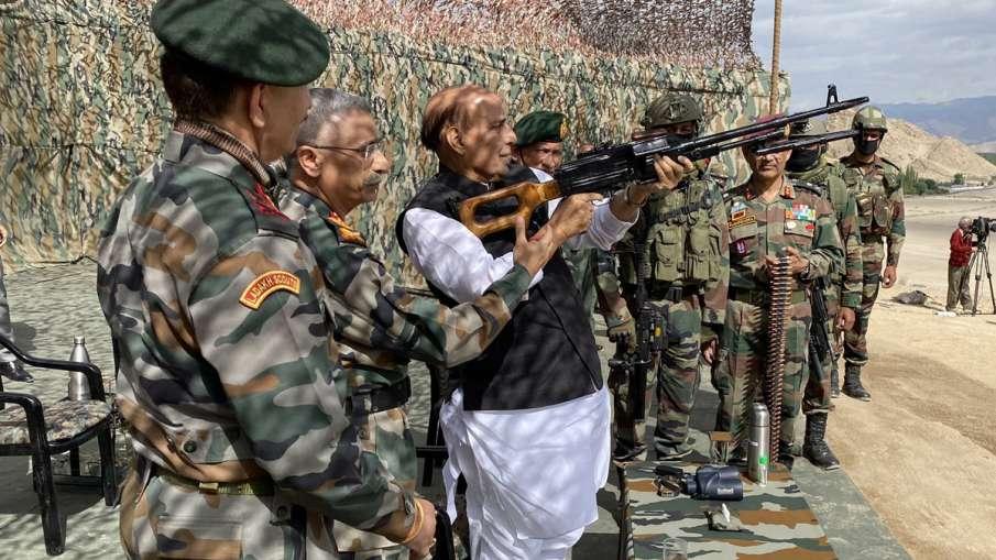 Defence Minister Rajnath Singh two-day visit to Ladakh and Jammu & Kashmir- India TV Hindi