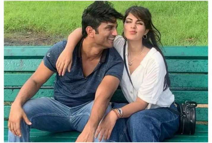 rhea chakraborty and sushant singh rajput- India TV Hindi