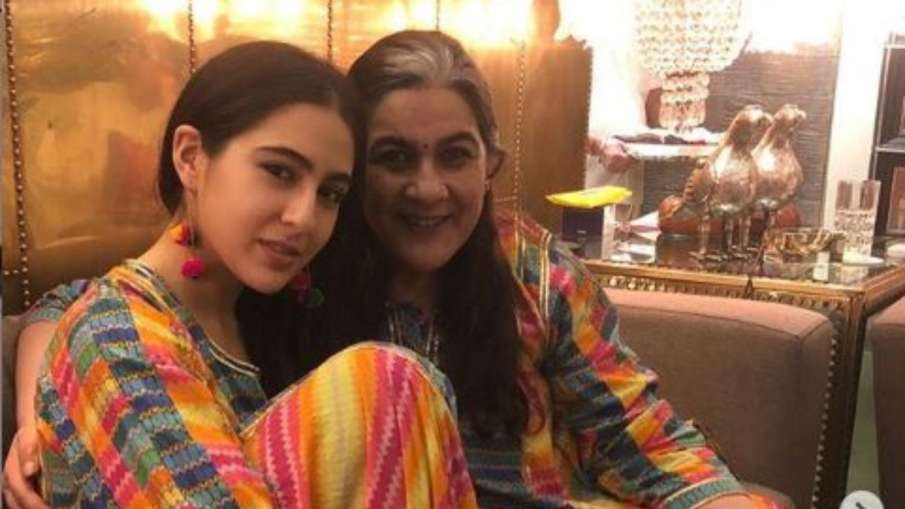 sara ali khan and amrita singh- India TV Hindi