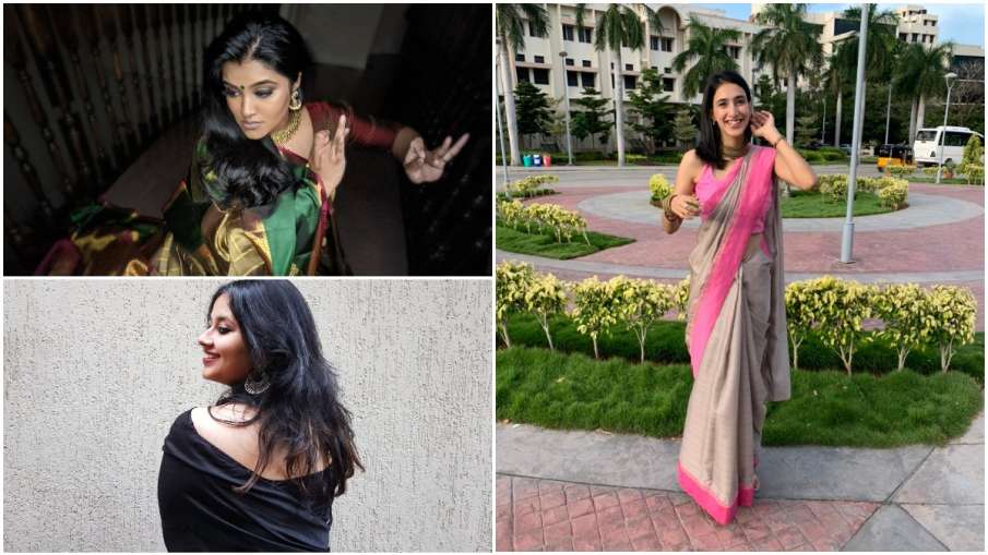 #SareeTwitter , Saree Twitter - India TV Hindi