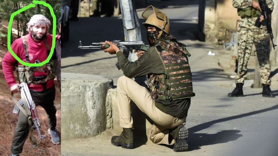 CRPF jawan martyred, terrorist killed in encounter in Jammu and Kashmirs Srinagar- India TV Hindi