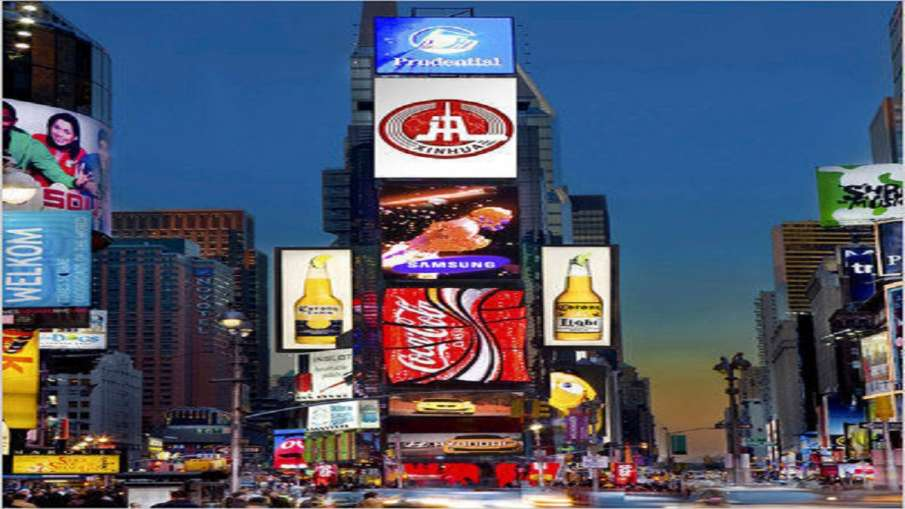 Pictures of Lord Ram and Ram Temple will be displayed on August 5 on Times Square in America- India TV Hindi