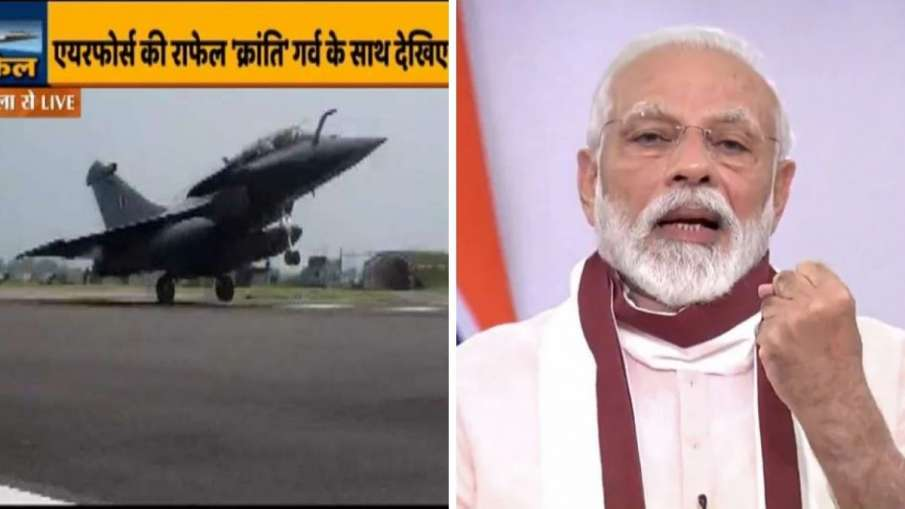 PM Modi welcomes Rafale by writting sanskrit sholka- India TV Hindi