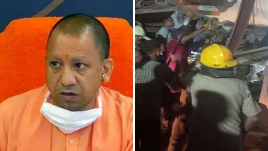 Cm Yogi take action on Noida building collapse ask commissioner to visit spot- India TV Hindi