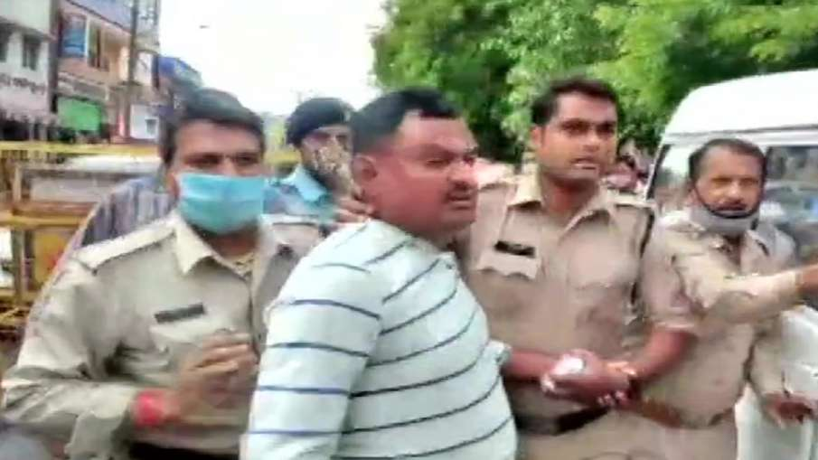 How UP's most wanted gangster Vikas Dubey was arrested from Ujjain's Mahakal temple, watch video- India TV Hindi