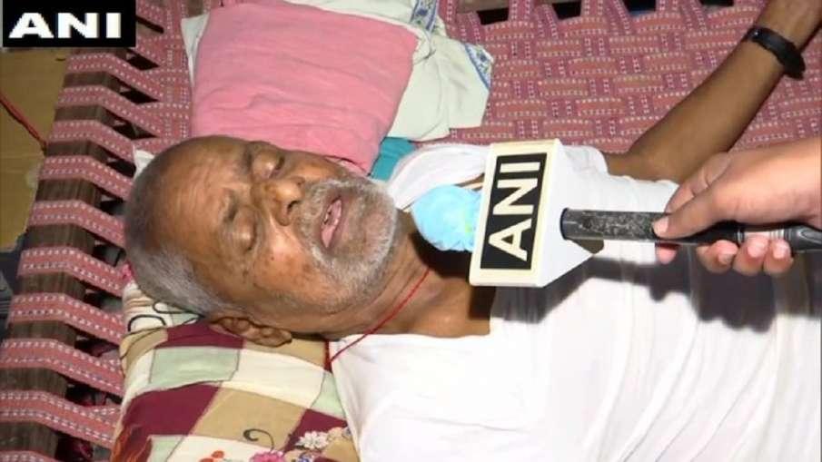 vikas dubey father reaction on his last rites- India TV Hindi
