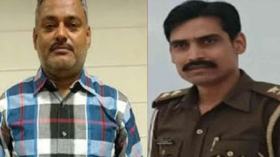 Vinay Tiwari Chaubeypur SO arrested in connection with Vikas Dubey- India TV Hindi