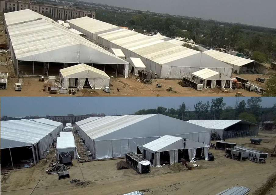 1000-bed dedicated COVID-19 hospital near Delhi airport to be inaugurated on Sunday- India TV Hindi