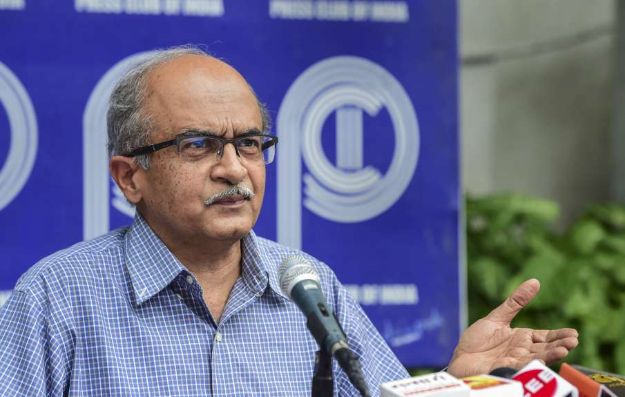 Lawyer Prashant Bhushan files review petition in SC against its judgement convicting him and imposin- India TV Hindi