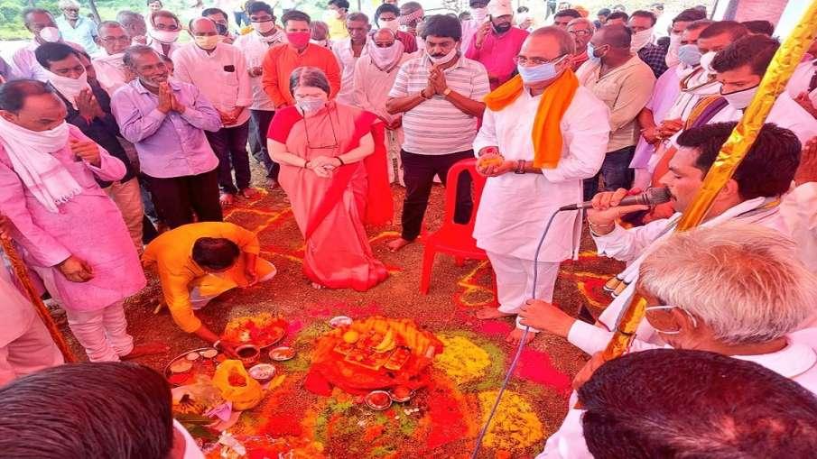 ayodhya like ram mandir to be constructed on narmada river bank in madhya pradesh Khargon । यहां भी - India TV Hindi