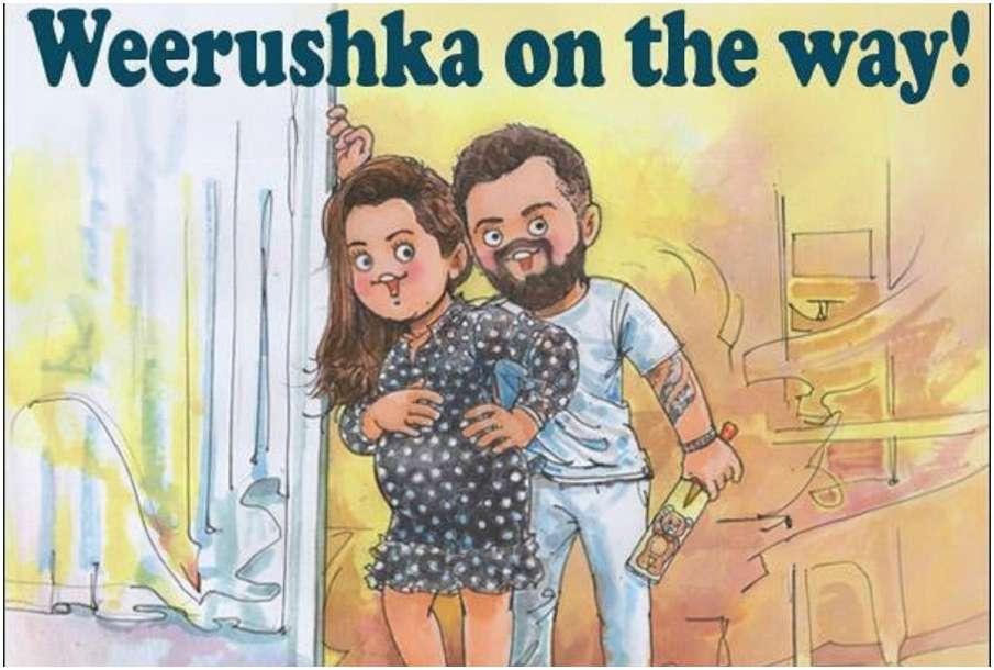 Amul India Anushka and Virat Viral Picture - India TV Hindi