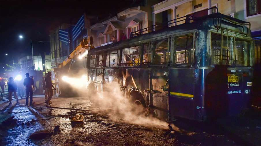 Bengaluru violence, Bengaluru violence BJP, Bengaluru, Bengaluru mob violence- India TV Hindi