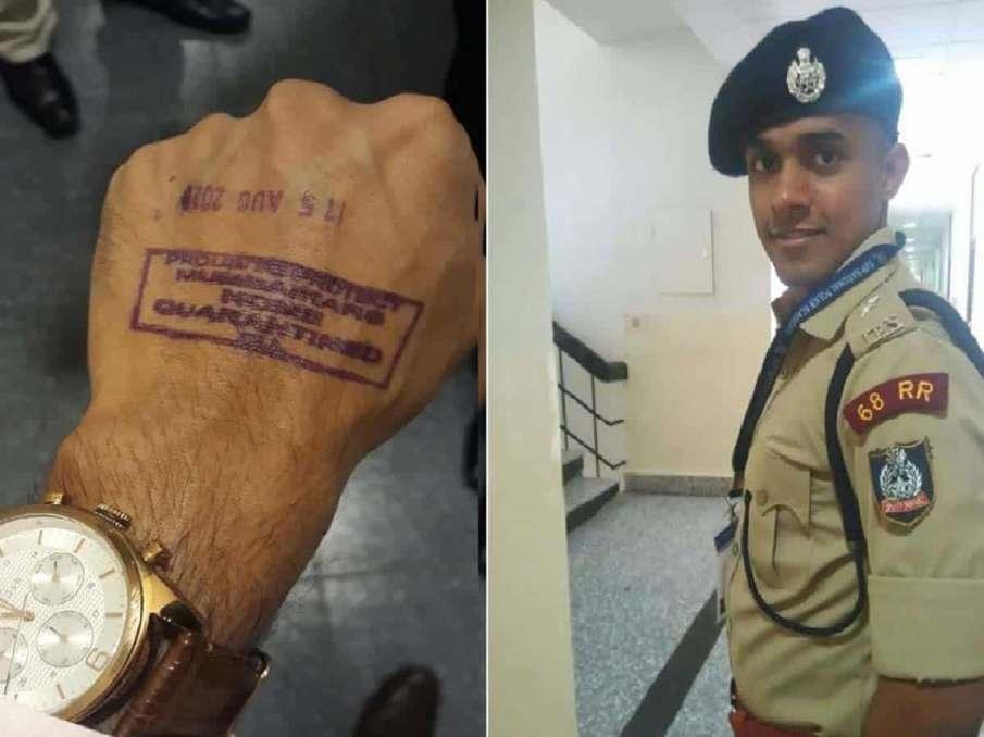 Bihar IPS officer Vinay Tiwari freed from quarantine after showing return ticket- India TV Hindi