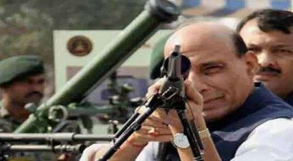 रक्षा मंत्री राजनाथ...- India TV Hindi