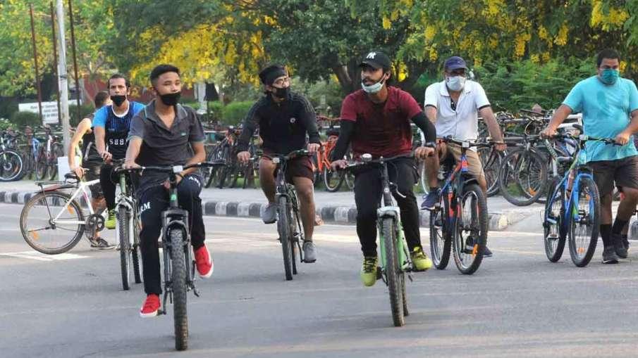 Lockdown के कारण दिल्ली...- India TV Hindi