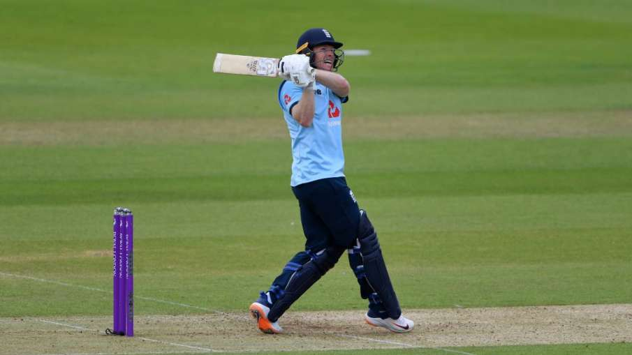 Eng vs IRE: Morgan overtakes Dhoni in terms of maximum sixes as captain- India TV Hindi