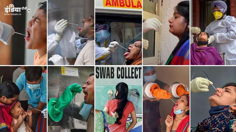 India's COVID-19 cases jumped from 10 lakh to 22 lakh in 24 days । रिकॉर्ड स्पीड में भाग रहा है कोरो- India TV Hindi