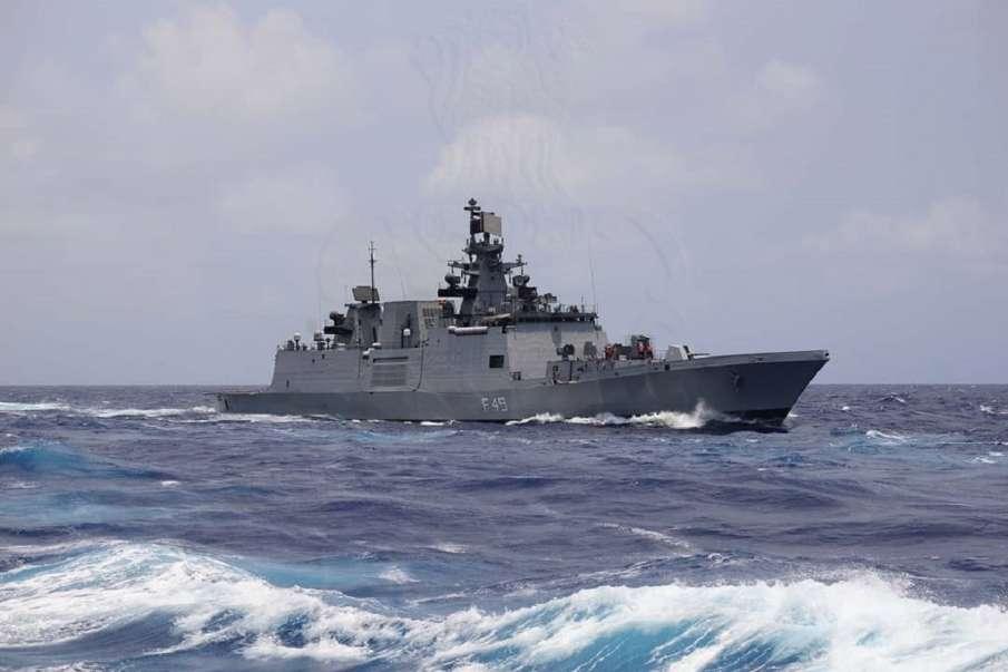 Deployment of Indian Navy warships in Indian Ocean increased । चीन से जारी तनाव के बीच हिंद महासागर - India TV Hindi