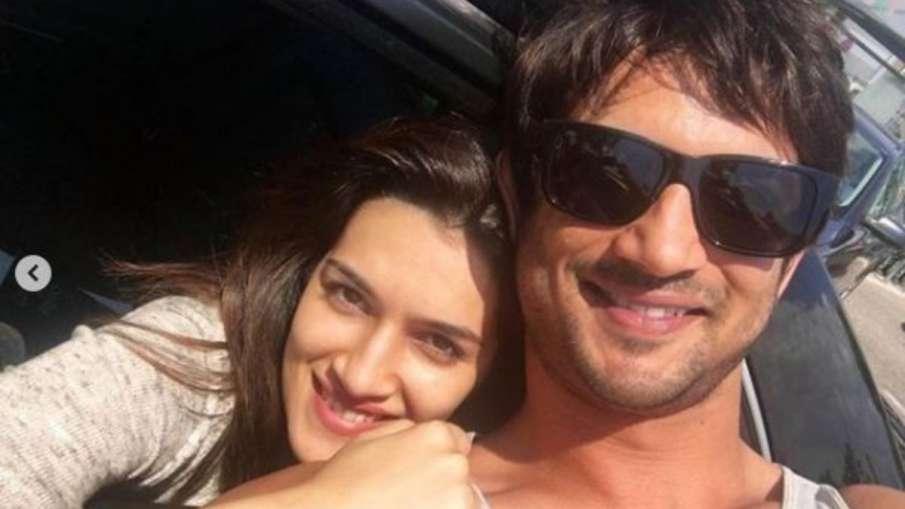 kriti sanon and sushant singh rajput- India TV Hindi