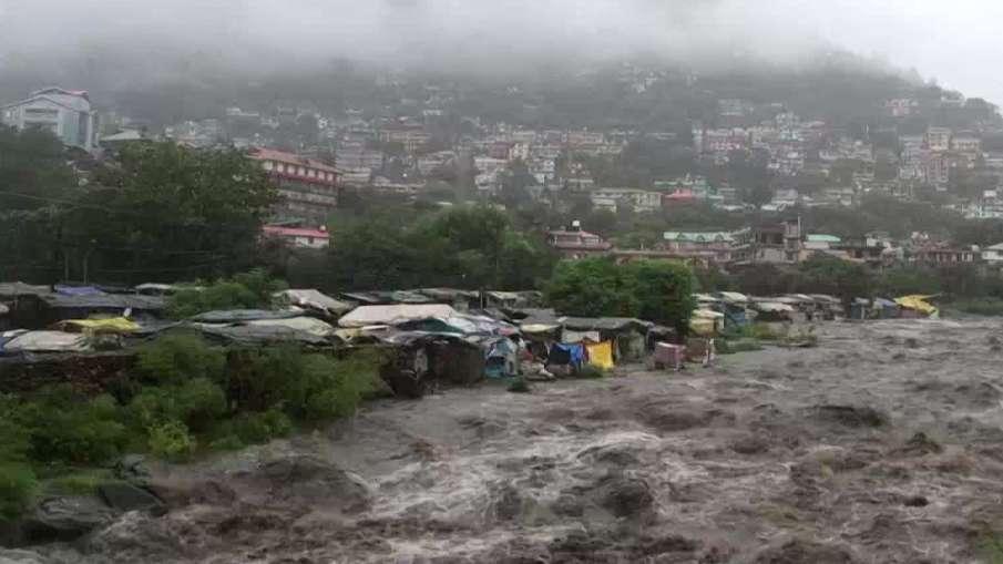 Himachal Pradesh: Flood like situation in Kullu following heavy rainfall in the region- India TV Hindi