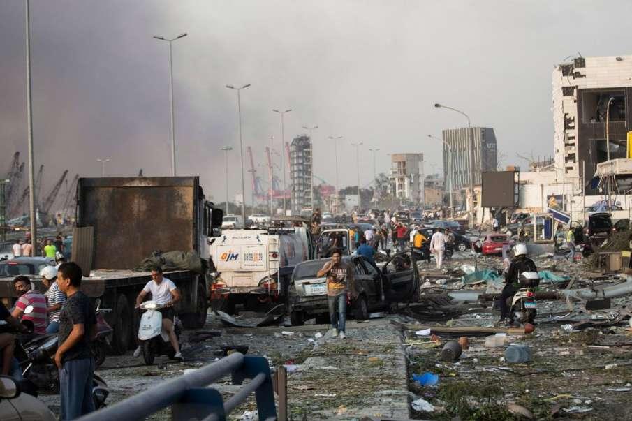 Lebanon Blasts: 2,750 Tonnes Of Ammonium Nitrate Exploded, Says PM On Beirut Blasts- India TV Hindi