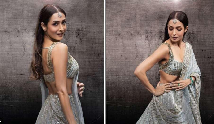 मलाइका अरोड़ा शिमरी लहंगे में नजर आईं बेहद खूबसूरत, तस्वीरों से नजर हटाना मुश्किल- India TV Hindi