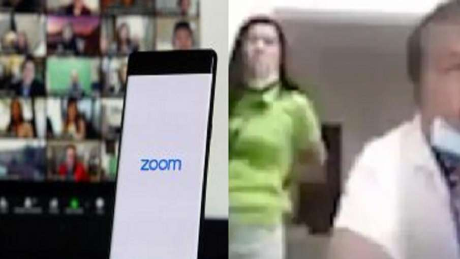 Philippines Officer Caught with Secretary During Zoom Meeting on camera- India TV Hindi