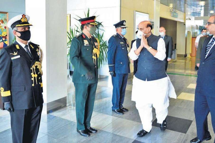 Rajnath expected to visit Russia next week to attend SCO meet- India TV Hindi