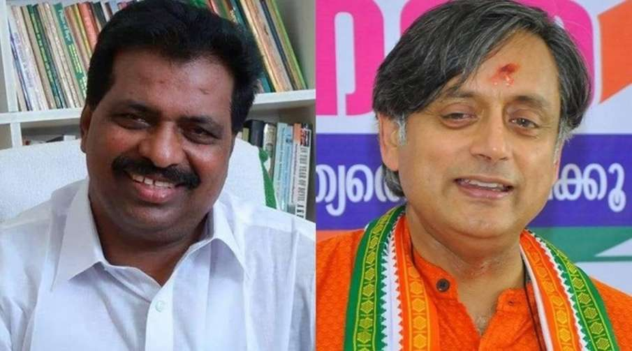 Shashi Tharoor a 'guest worker' in Congress, taunts KPCC working president K Suresh- India TV Hindi
