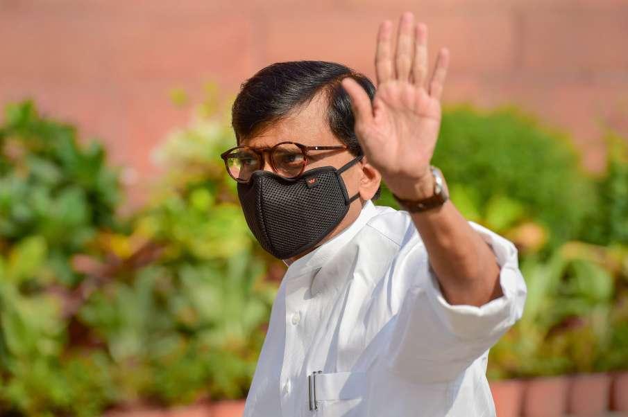 'सामना' के कार्यकारी संपादक और शिवसेना के राज्यसभा सांसद संजय राउत- India TV Hindi