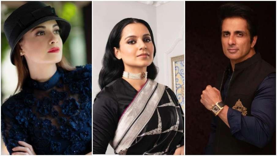 kangna ranaut, sonu sood , mumbai- India TV Hindi