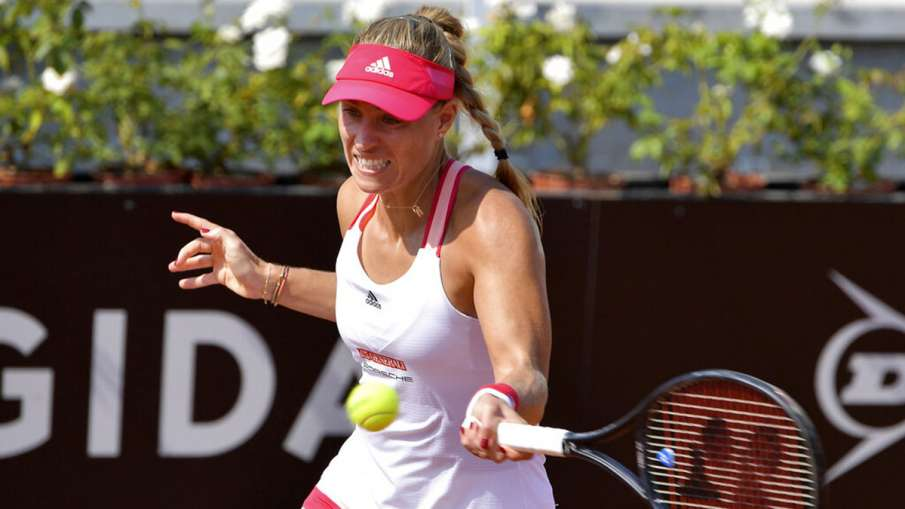 Italian Open: Angelique Kerber victim of first round upset - India TV Hindi