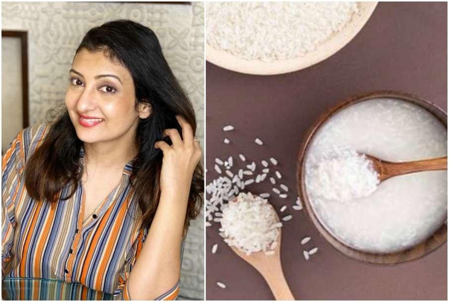 Juhi Parmar and Rice Water- India TV Hindi