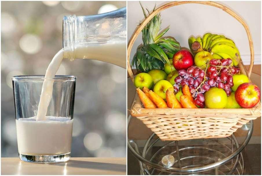 Milk and Fruits - India TV Hindi