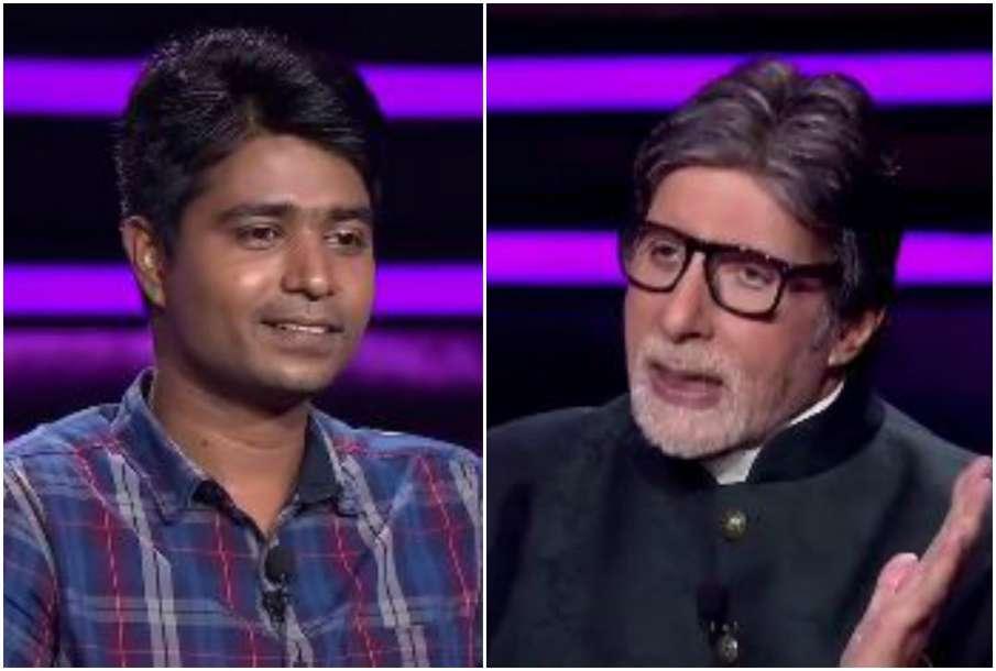 Sonu Kumar Gupta and Amitabh Bachchan- India TV Hindi