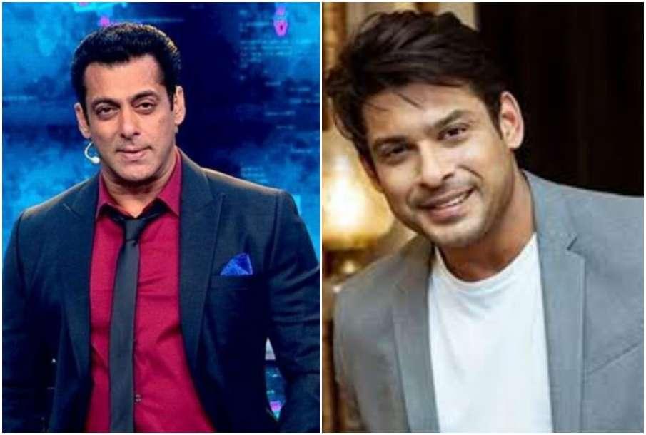 Salman Khan and Sidharth Shukla - India TV Hindi