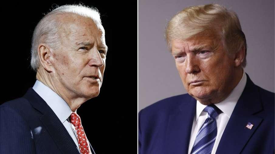 Donald Trump and Joe Biden, Donald Trump, Joe Biden, Donald Trump Joe Biden Indian Americans- India TV Hindi