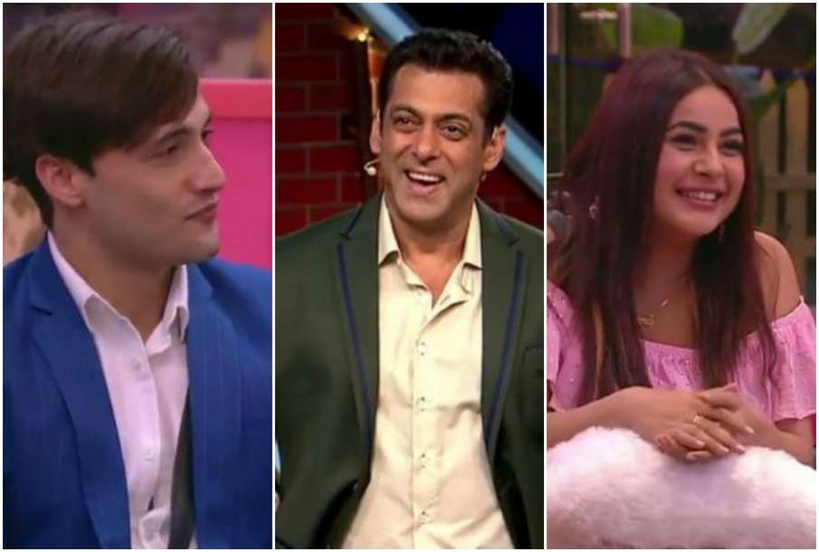 Asim, Salman Khan and Shehnaaz Kaur Gill - India TV Hindi