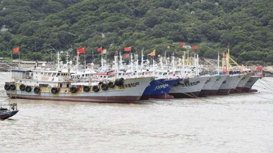 China vessels Pakistan, China Pakistan Fish, China Fish Pakistan, China Karachi Protest- India TV Hindi