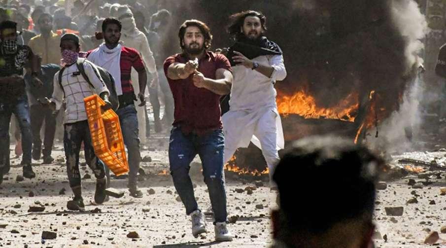 Delhi Police file chargesheet on Delhi riots- India TV Hindi