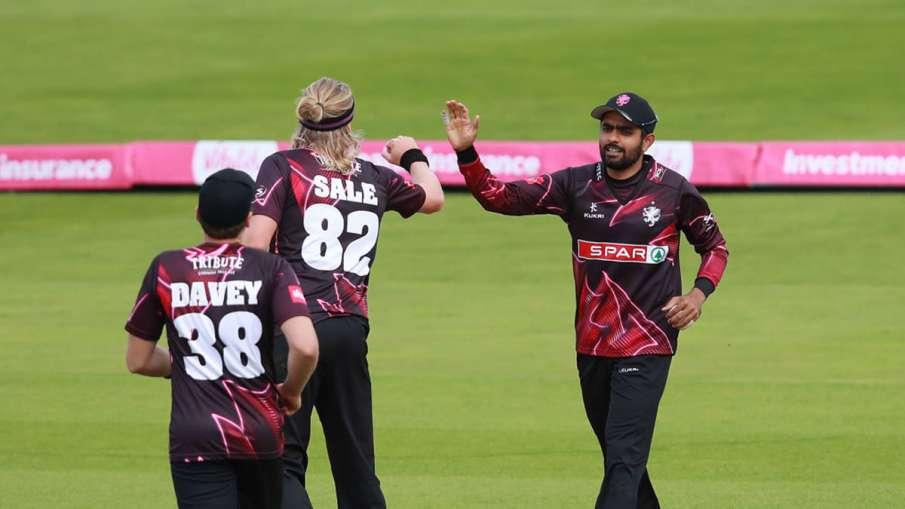 Babar Azam refuses to put liquor Logo on his jersey during T20 Blast tournament- India TV Hindi