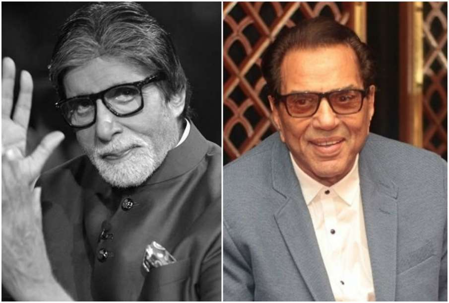 Amitabh Bachchan and Dharmendra - India TV Hindi