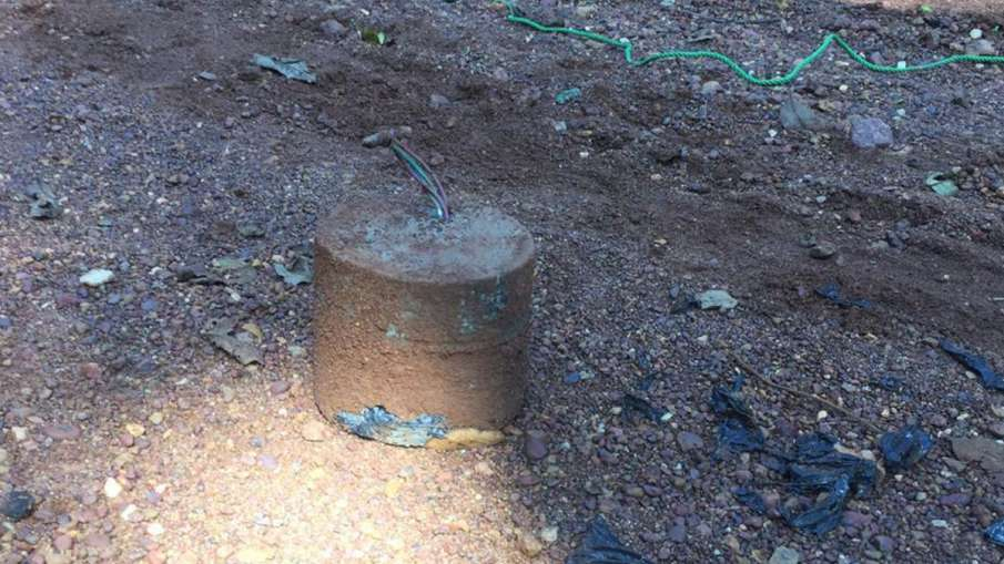 ITBP destroyed 7 KG IED explosive in Chhattisgarh - India TV Hindi