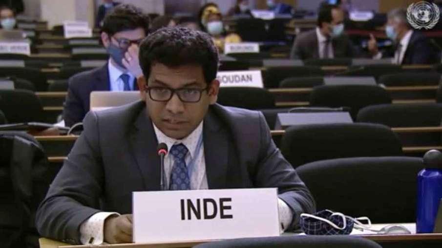 Pakistan 'epicenter of terrorism'; persecutes Hindus, Sikhs, Christians: India at Geneva- India TV Hindi