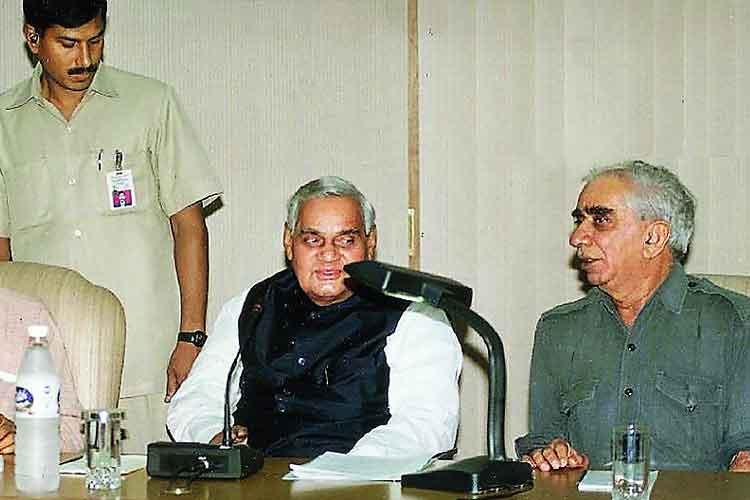 Atal Bihari Vajpayee and Jaswant Singh- India TV Hindi
