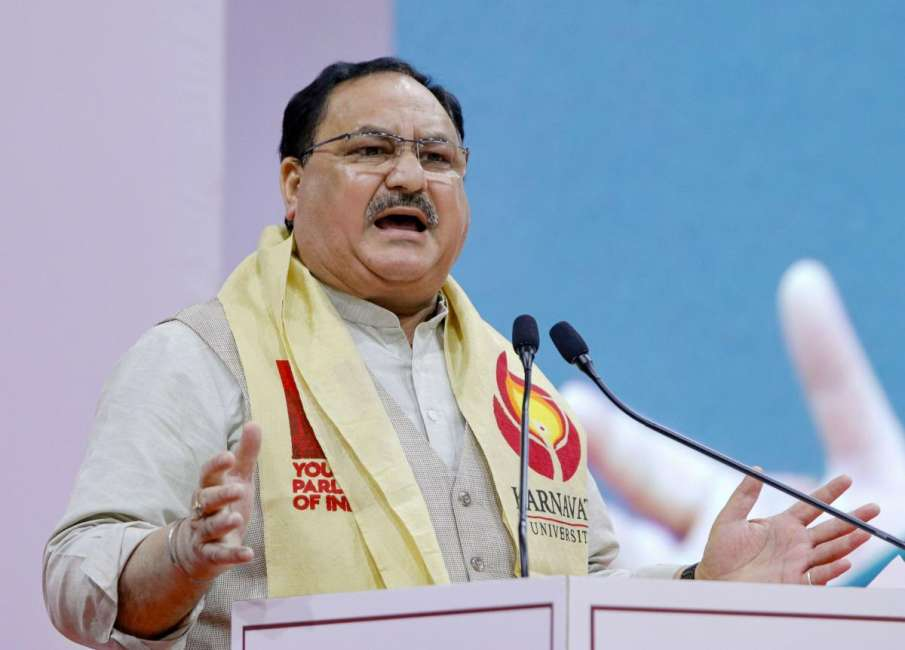 J. P. Nadda, President of BJP- India TV Hindi