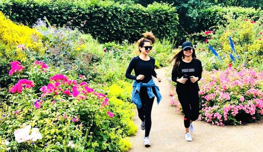 kangana ranaut jogging- India TV Hindi
